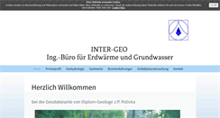 Preview of inter-geo.de