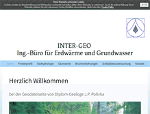 Tablet Preview of inter-geo.de